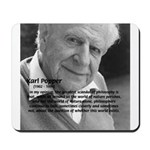 Open Society: Karl Popper Mousepad