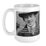 Heisenberg Natural Science Large Mug