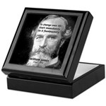 William James Life and Change Tile Box