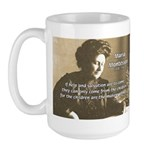 Maria Montessori Education Large Mug