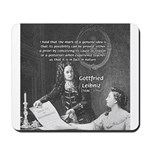 Leibniz Origins of Calculus Mousepad