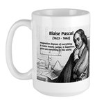 Mathematics: Blaise Pascal Large Mug