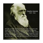 Charles Darwin: Science Tile Coaster