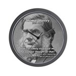Thomas Huxley and Darwin Wall Clock