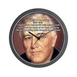 American President FDR Wall Clock