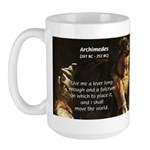 Greek Mathematician: Archimedes Large Mug