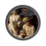 Wilson: Love Sex Correggio Wall Clock