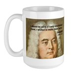 Handel's Messiah Large Mug