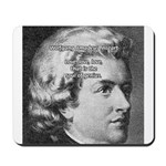 Music, Genius and Mozart Mousepad
