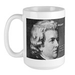 Music, Genius and Mozart Large Mug
