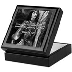 Heroine / Saint Joan of Arc Tile Box