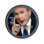 Terrorism George W. Bush Wall Clock