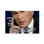 Terrorism George W. Bush Rectangle Magnet