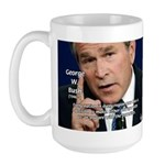 Terrorism George W. Bush Large Mug
