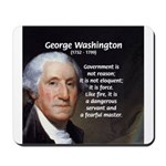 Politics: George Washington Mousepad