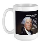 Politics: George Washington Large Mug