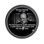 Sir Winston Churchill Wall Clock