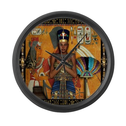 Africa Large Wall Clock by CafePress