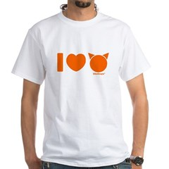 I Love Cats White T-Shirt
