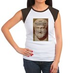 Greek Philosophers: Aristotle Women's Cap Sleeve T