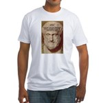 Greek Philosophers: Aristotle Fitted T-Shirt