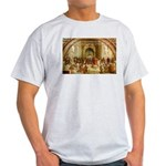 Raphael School of Athens Ash Grey T-Shirt