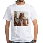 Music and Plato White T-Shirt