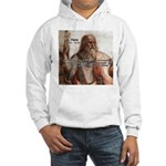 Music and Plato Hooded Sweatshirt