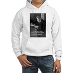 Truth Existentialist Kierkegaard Hooded Sweatshirt