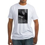 Truth Existentialist Kierkegaard Fitted T-Shirt