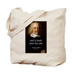 Thomas Hobbes Truth Tote Bag