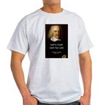 Thomas Hobbes Truth Ash Grey T-Shirt