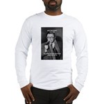 Existentialist Jean-Paul Sartre Long Sleeve T-Shir