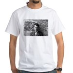 Ludwig Wittgenstein White T-Shirt