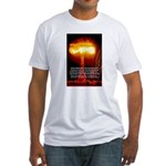 Atomic Bomb: Oppenheimer Fitted T-Shirt