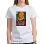 Michel de Montaigne Education Women's T-Shirt