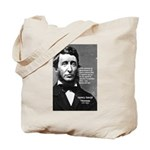 Philosophy / Nature: Thoreau Tote Bag