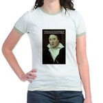 Romantic Writer: Percy Shelley Jr. Ringer T-Shirt
