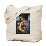 Woman and Child: Da Vinci Tote Bag