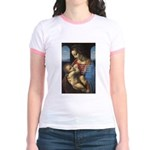 Woman and Child: Da Vinci Jr. Ringer T-Shirt