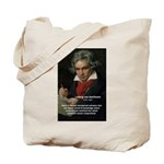Classical Music: Beethoven Tote Bag