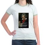 Classical Music: Beethoven Jr. Ringer T-Shirt
