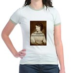 Mary Wollstonecraft Jr. Ringer T-Shirt