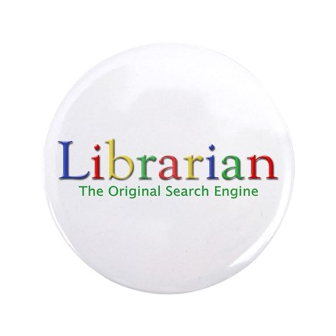 Librarian  Internet 3.5 Button 100 pack by CafePress