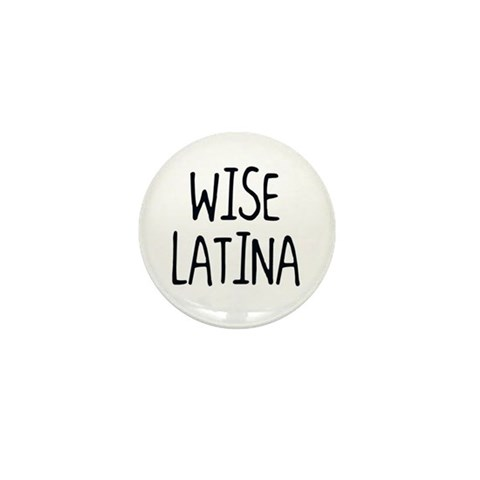 'Wise Latina'  Spanish Mini Button 10 pack by CafePress