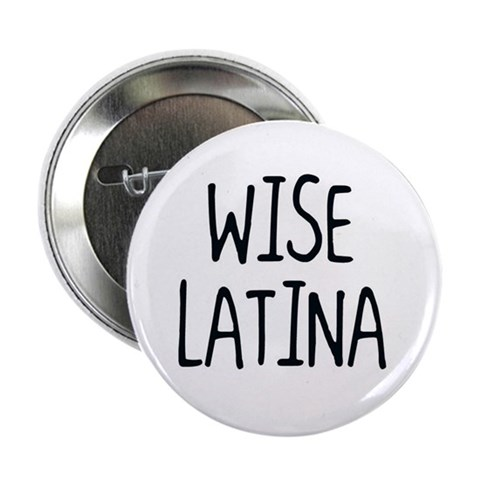 'Wise Latina' 2.25quot; Button Spanish 2.25 Button by CafePress