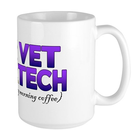 - 1 Vet Tech Animal Large Mug by CafePress