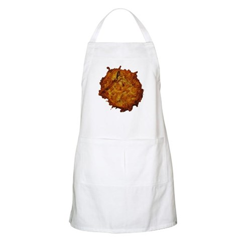 Giant Latke Hanukkah chanukkah latke latka hanukah chanukah Apron by CafePress