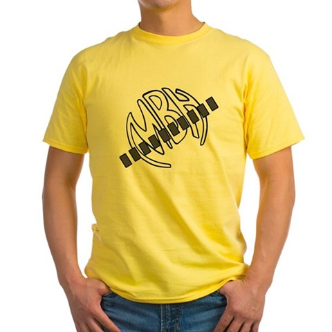 - big circle logo  creed Music Yellow T-Shirt by CafePress