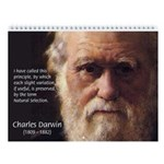 Famous Scientists & Inventors 2010 Wall Calendar
